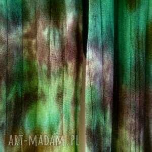 szal wełniany lasem malowany, szal, szalik, wełniany, miękki, ciepły, unikatowy