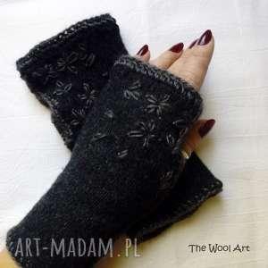 rękawiczki mitenki, rękawiczki, prezent, wełniane