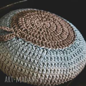 poduszka ombre - medytacja joga siedzisko, pufa, joga, medytacja, rękodzieło