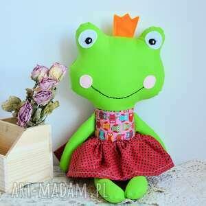 maskotki królewna zaczarowana w żabkę - ala 45 cm, żabka, królewna, księżniczka
