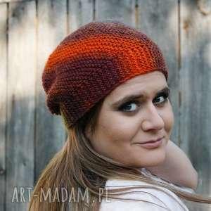 czapka wiatraczek, miękka, ciepła, rękodzieło, unikatowa, wesoła, kolorowa