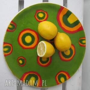 afrykańska patera ceramiczna, patera, dekoracyjny, talerz, ceramiczny