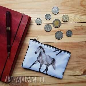 portfel koniki, portfel, monety, wyjazd, mały, drobiazgi, święta