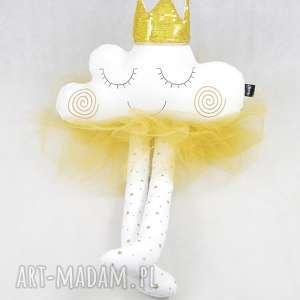 hand-made zabawki chmurka przytulanka księżniczka z tiulową spódniczka 90 cm