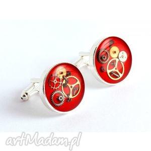 spinki - steam dream red,