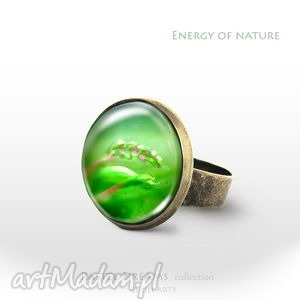 Pierścionek - Energia natury antyczny brąz, pierścionek, pierścień, antyczny, łąka
