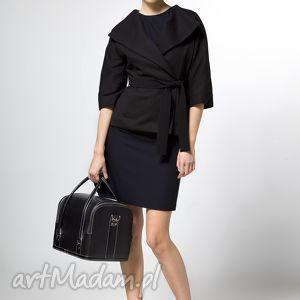 kimono jacket 38 - żakiet, kurtka, kimonowa, jesień, flausz, moda