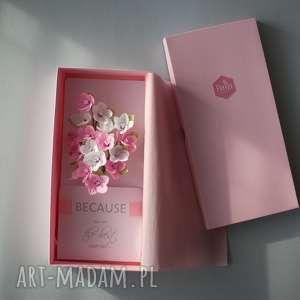 karteczki 3d dla mamy, flowers, papier, ponieważ, jesteś, najlepsza, mama