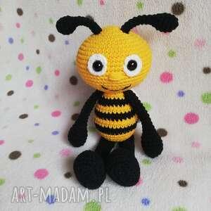 pszczółka zuzia, pszczoła, pszczółka, maskotka, maja, bee, szydełkowa maskotki