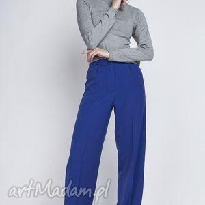 Spodnie, SD111 indygo, szerokie, szwedy, eleganckie, sportowe, komunia, chrzciny