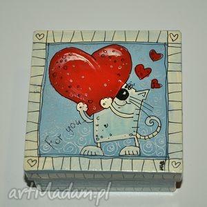 handmade pudełka pudełeczko walentynki