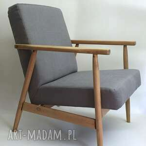 fotel klubowy typ b-7727, b7727, prl, vintage, meble, fotel, radomsko
