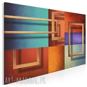 obraz na płótnie - ramy abstrakcja 120x80 cm 44601, ramy, ramki, rama