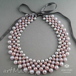 Sandra naszyjniki bead story kolia, naszyjnik, klasyczna