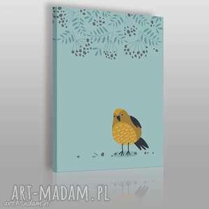 obraz na płótnie - zwierzę ptak ptaszek 50x70 cm 69006, ptak, ptaszek, dzieci