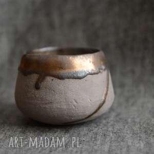 Organiczna czarka ceramika ziemia zu herbata, czarka