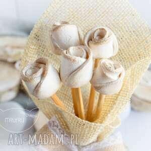 mrufru przepiękny bukiet róż wyjątkowy podarek na każdą okazję, dla niej