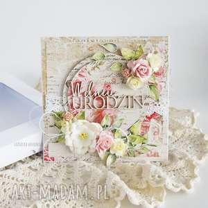 vairatka handmade kartka urodzinowa w pudełku 469