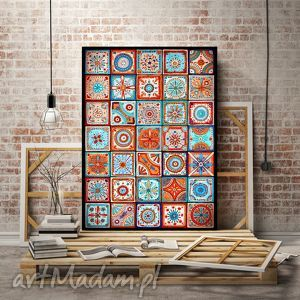 Mozaika 30x40cm, mozaika, abstrakcja, plakat