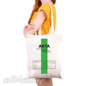 na ramię torba eko akta sprawy, zakupy, shopper, prawnik, sąd, prezent, pod