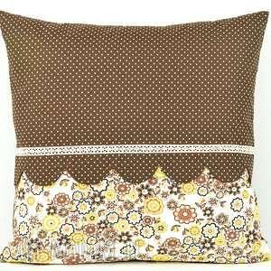 Prezent Poduszka dekoracyjna 45x45cm - Retro, poszewka, bawełna, oryginalna, prezent