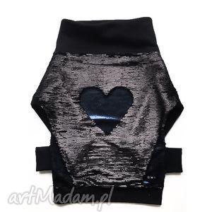 Kreatywna czarna bluza damska z cekinami, damskabluza, czarnabluza, bluzazcekinami