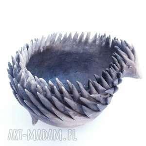 ceramika odymiony tuptuś pierwszy, ceramika, użytkowe, unikatowe, naczynie