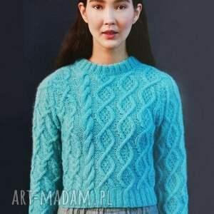 Prezent Sweter Nacka, sweter, ciepły, miękki, prezent, alpaka, merino