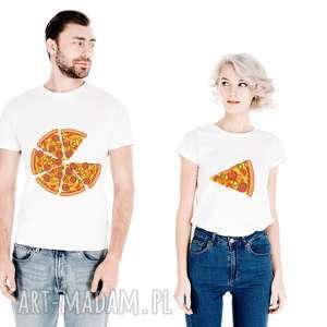 Prezent Zestaw koszulek dla Par PIZZA niej i niego , dla-niej, dla-niego