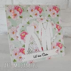 kartka i exploding box w zestawie - exploding, ślub, box, prezent