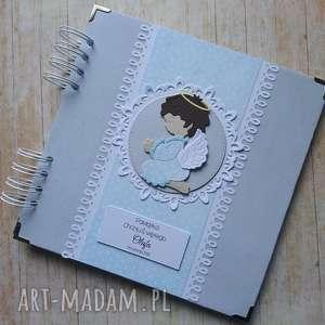 handmade scrapbooking albumy album - mój anioł stróż