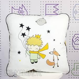 poduszka maŁy ksiĄŻĘ 46x46, mały, książę, poduszka, jasiek, velvet, wystrój