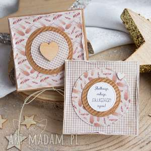kartki pudełeczko z kartką pełne uczuć i słów, urodziny, na imieniny, kartka