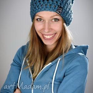 Mono 18, czapka, czapa, kolorowa, zimowa, zima, wełna
