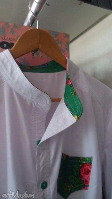 gustowne koszulki męska koszula folk design sygnowana