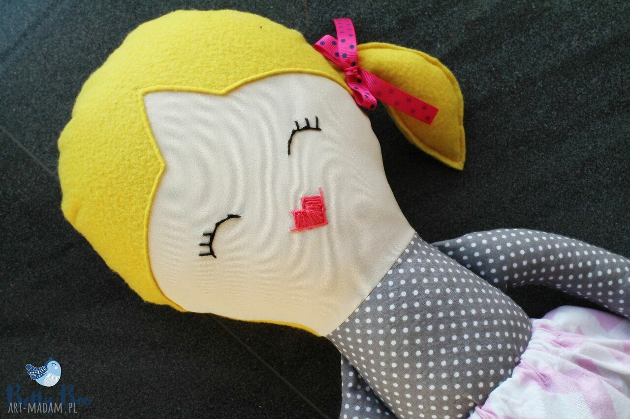 lala lalki szare ogromna lalka, 75 centymetrów