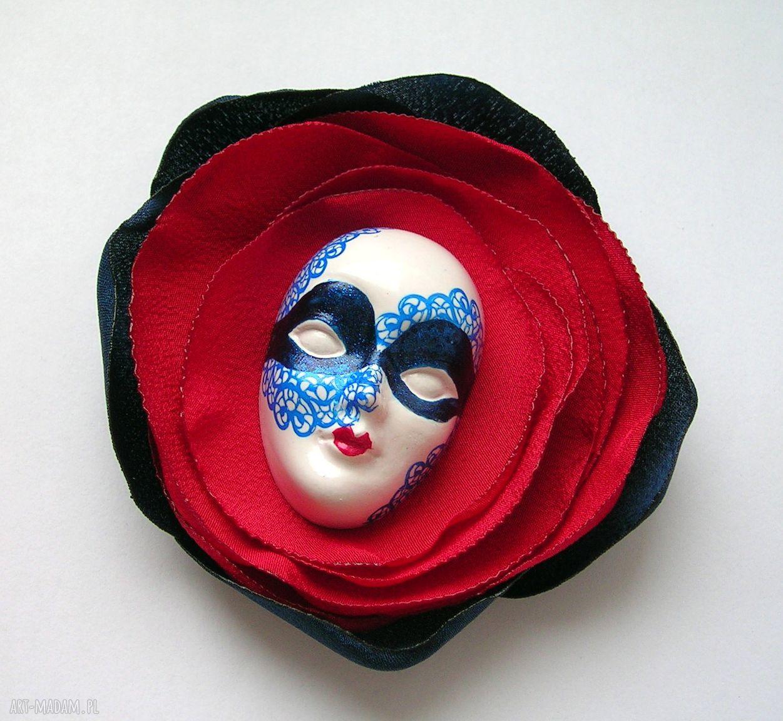 handmade broszki broszka z kolekcji masquerade - marynarska