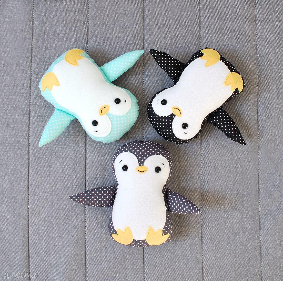 ręczne wykonanie zabawki pingwin