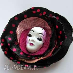 Broszka z Kolekcji Masquerade - Laura II, broszka, maska, wenecka, przypinka, ozdoba,