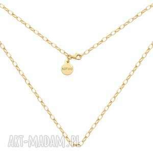 złoty masywny naszyjnik sotho - łańcuszek, łańcuch