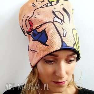 prezent na święta, czapka pocałunek, walentynki, komiks, miłość, po