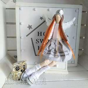 anioł pamiątka chrztu stróż modlitwa, anioł, tilda, stróż, modlitwa