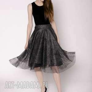 Spódnica z siatki spódnice magdalena koziej spódnica, siatka