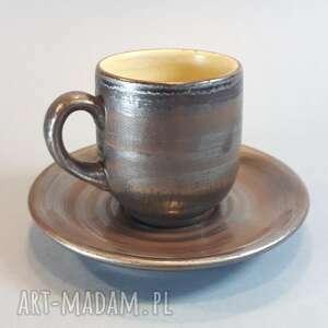 Ceramika vrs ceramics filiżanka espresso, kawa, bolesławiec,