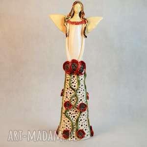ceramika anioł lampion ceramika, anioł, lampion, ceramiczny