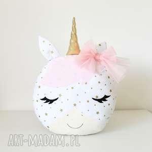 jednorożec różowy poduszka zabawka, przytulanka, maskotka koń