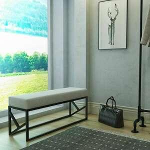 dom ławka, siedzisko elinor, do salonu, przedpokoju, sypialni styl nowoczesny