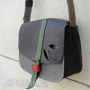na ramię torebka mała zgrabna, torebka, torba, skórzana, ramię, kolorowa