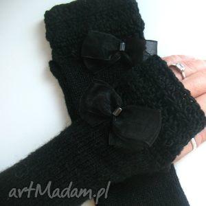 rękawiczki mitenki - rękawiczki, mitenki, rękodzieło