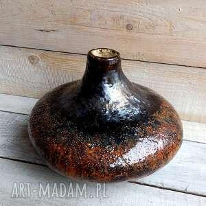 duży ciężki dekoracyjny wazon ceramiczny, wazon, ceramiczny